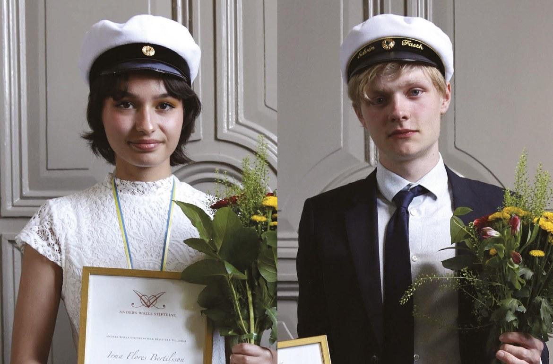 Årets Anders Wall-stipendier till Katedralskolan utdelade