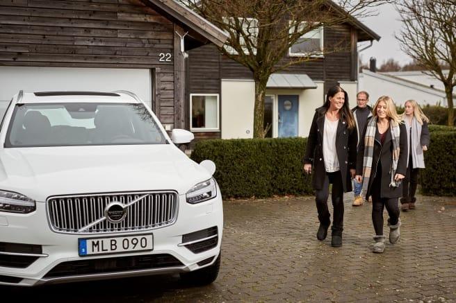 Svenska familjer hjälper Volvo Cars utveckla autonoma bilar