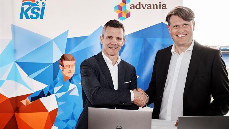 Advania är nu en stolt sponsor av Islands nationella fotbollslag