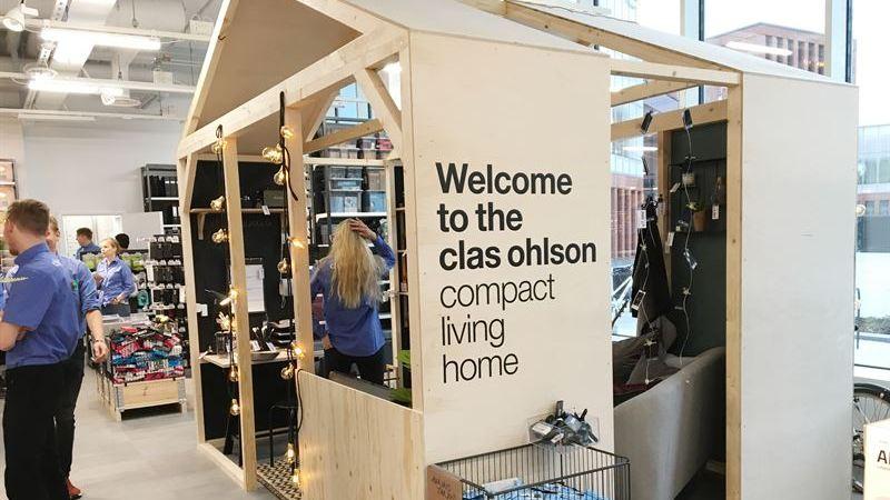 Clas Ohlson har öppnat sin första Lab Store