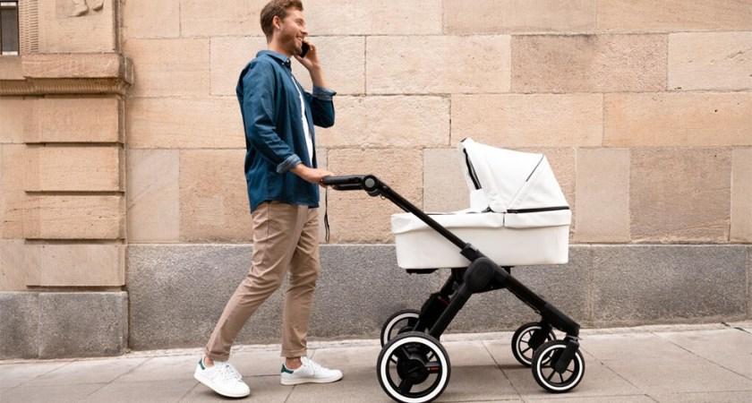 Bosch har utvecklat intelligent barnvagn som bromsar vid fara