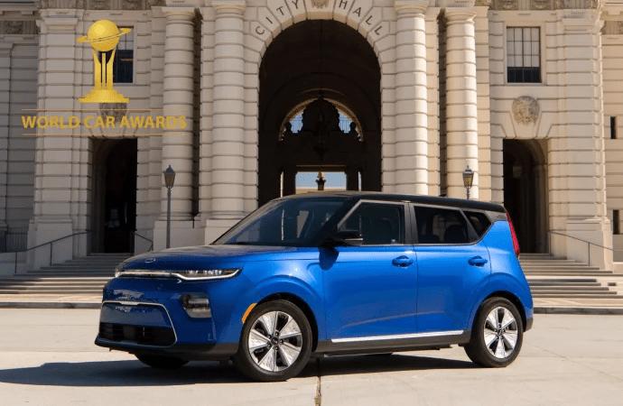 Kia e-Soul och Kia Telluride vinnare i Årets Bil globalt – World Car Awards