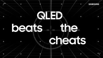 Samsungs nya initiativ QLED Beats the Cheats visar att rätt TV-teknik är bättre än fusk 1