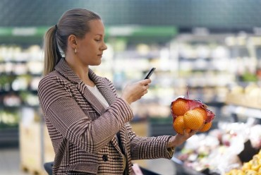 Skanna och betala matkassen med mobilen 1