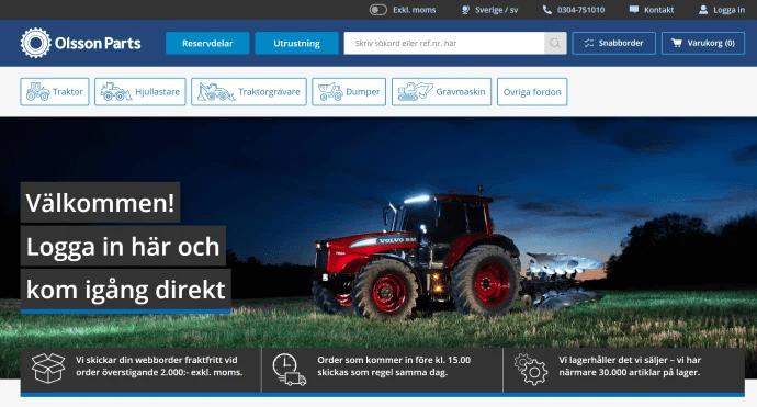 Marknadsledande Olsson i Ellös släpper ny digital plattform på Episerver.