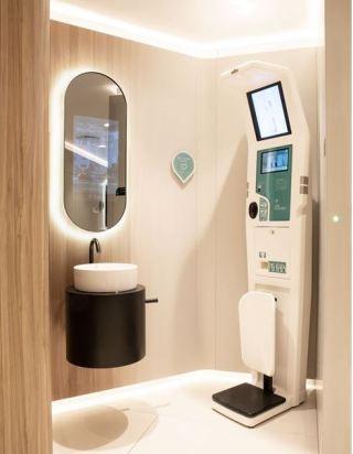 Liljeholmstorget Galleria stärker kundupplevelsen med nytt, smart toalettkoncept 1