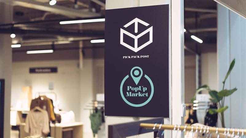 Välkända varumärken till Diös PopUp Market i Kärnan galleria i Östersund