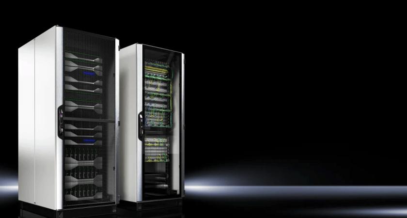 Det nya IT-racksystemet från Rittal har anlänt! Världens snabbaste IT-rack