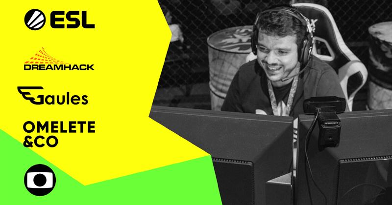 ESL och DreamHack i treårigt avtal om medierättigheter med Brasiliens ledande mediebolag