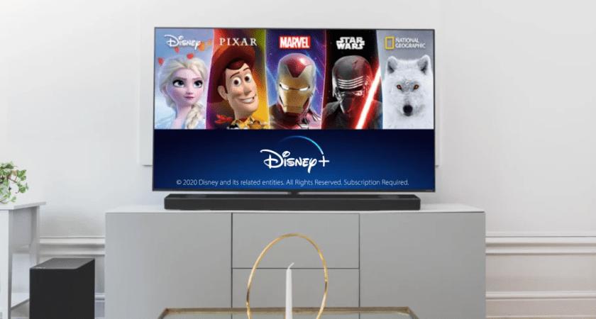 Disney+ är nu tillgänglig på kompatibla LG TV i Norden