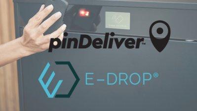 pinDeliver och E-drop startar unikt samarbete inom obevakade hemleveranser 1