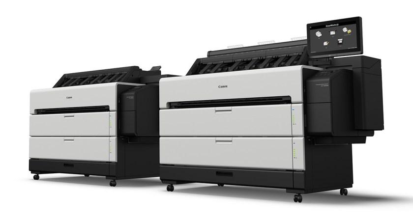 Canons hittills snabbaste imagePROGRAF-skrivare lyfter CAD marknadens produktion av storformatstryck