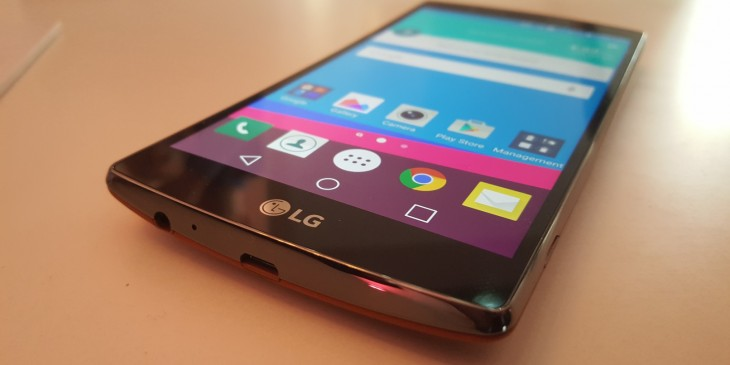 Smartphone LG G4.