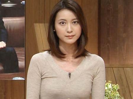 テレ朝の小川彩佳アナが美人すぎ...
