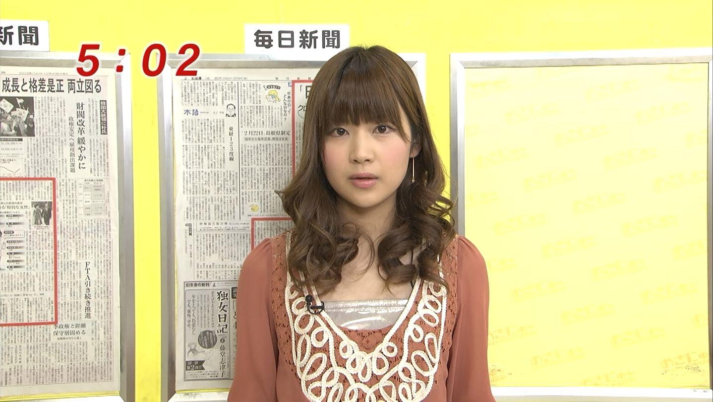 フジテレビの竹内友佳アナがかわいい!気になるカップや身長は?
