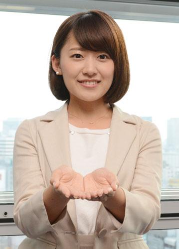 日本テレビの尾崎里紗アナがかわ...