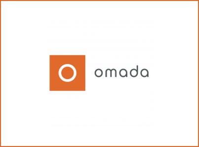Omada logo, kunder IT Univers