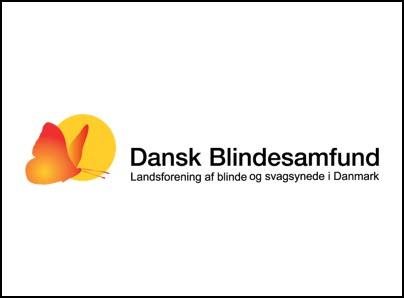 Dansk Blindesamfund logo, kunder IT Univers