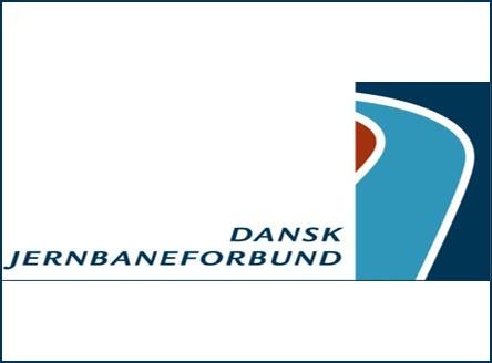 Dansk Jernbaneforbund logo, kunder IT Univers