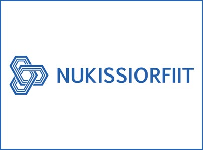 Nukissiorfiit logo, kunder IT Univers