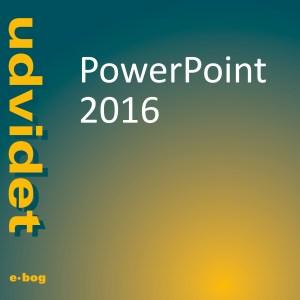 PowerPoint 2016, udvidet e-bog