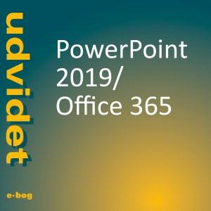 Powerpoint 2019, Office 365 udvidet e-bog