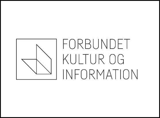 Forbundet kultur og information logo, IT Univers