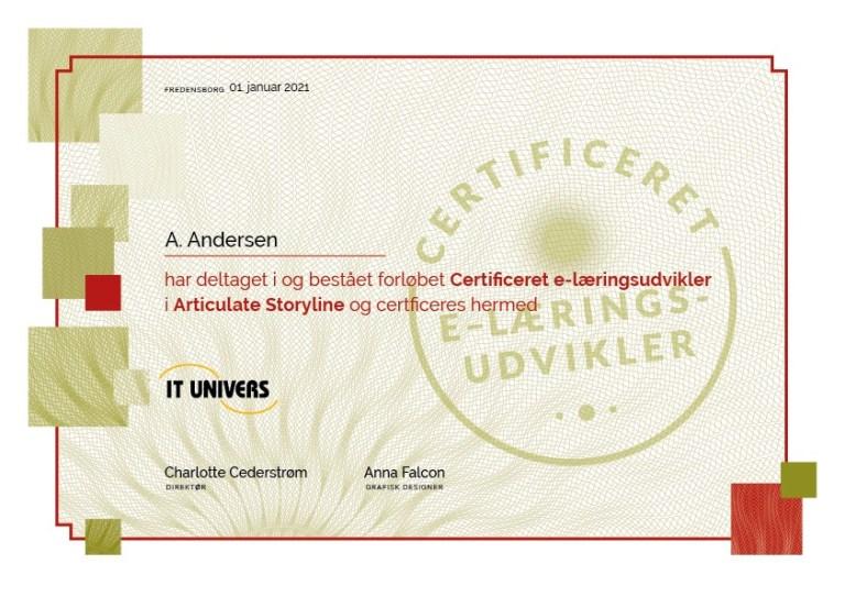 Certificering_e-læringsudvikler_Articulate_Storyline_IT_Univers