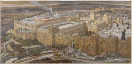 Ricostruzione della parte alta della Città di Gerusalemme e del Sacro Tempio (Museo di Brooklyn)