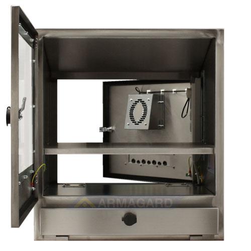 Armadio PC Acciaio Inox Protezione Per Computer E