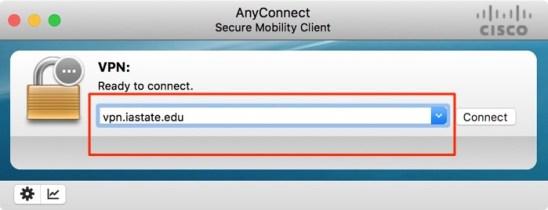 Enter VPN Address