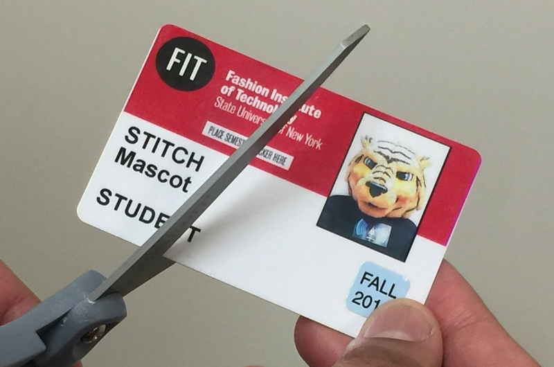 Person Cutting an FIT ID