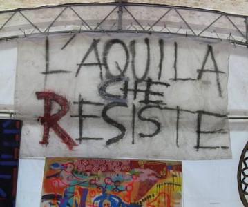 L'Aquila che resiste