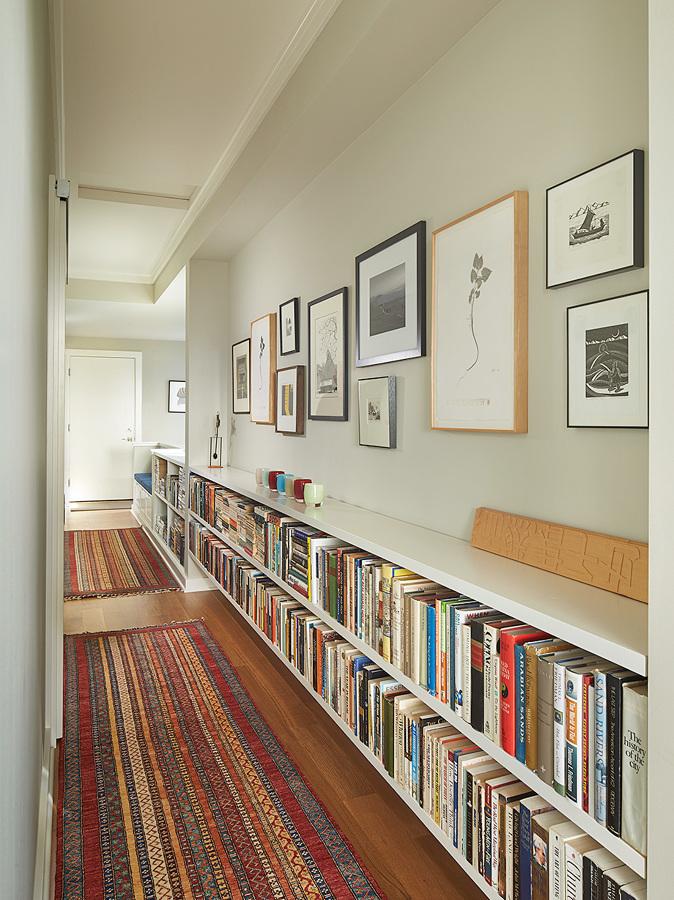 Low And Long Bookshelf