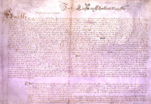 Nel 1628 il Parlamento Inglese mandò questaenunciazione di libertà civili al Re CarloI.