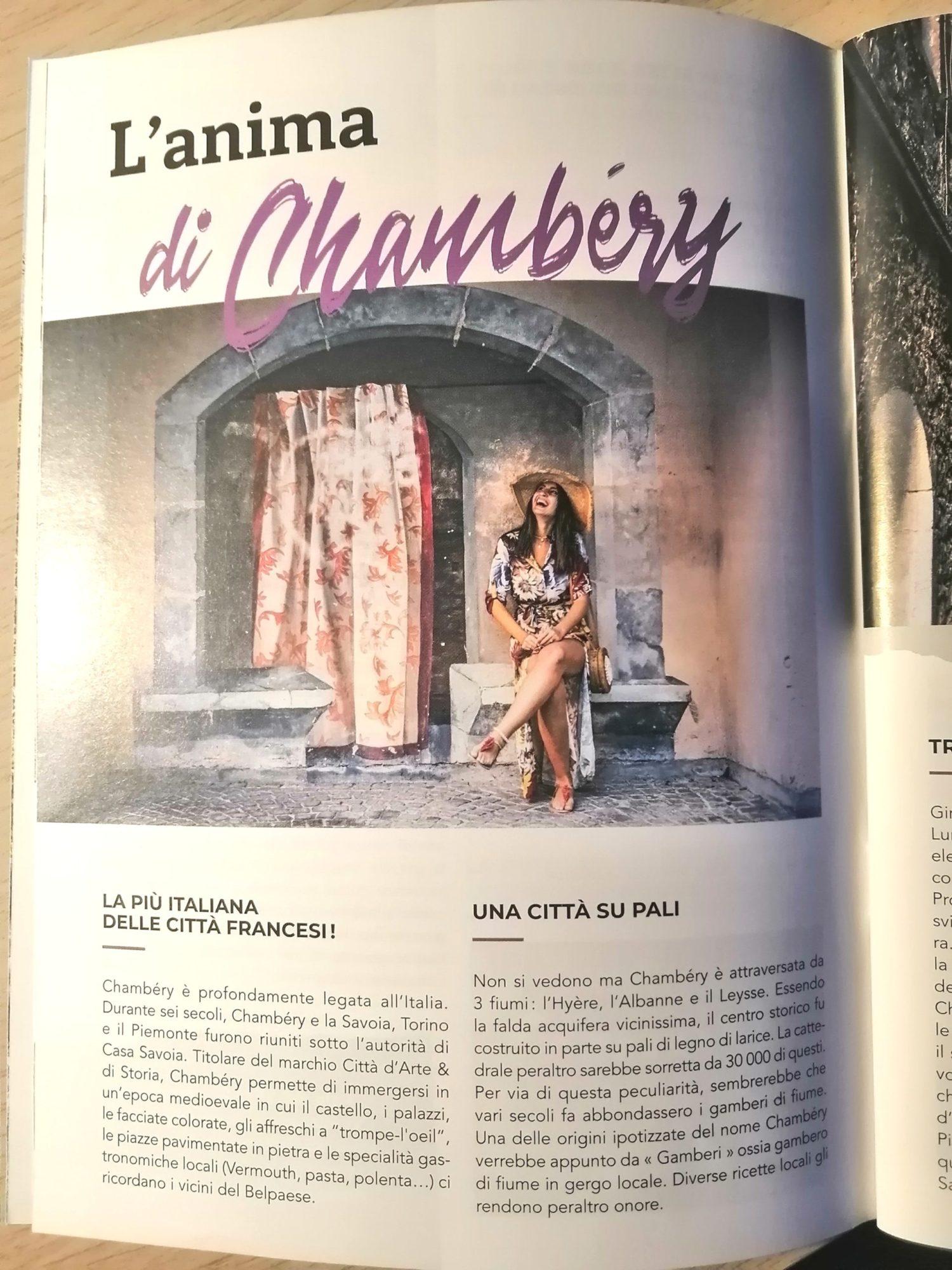 Chambéry città arte storia