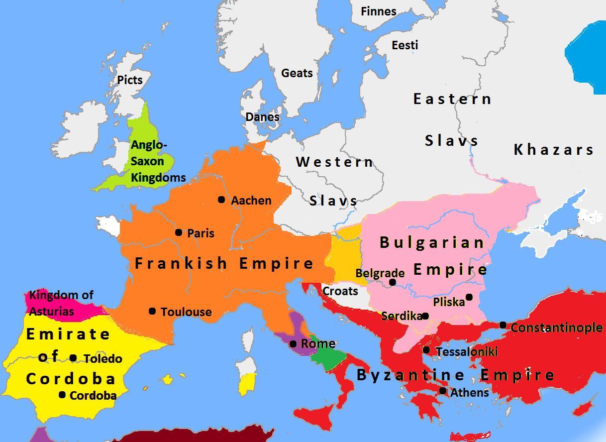 Bulgaria Mappa Europa