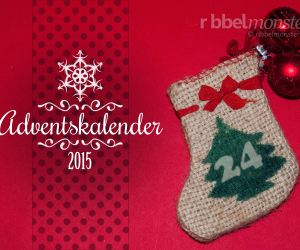 Ribbelmonster Adventskalender 2015
