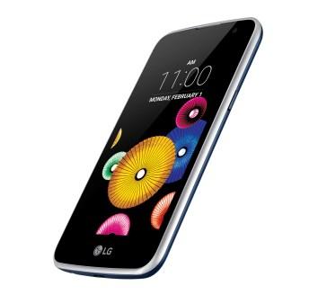 LG k4 išmanusis telefonas