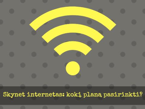 Skynet internetas