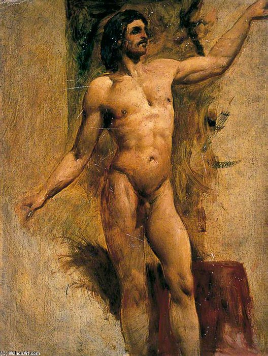 Image result for william etty male nude front