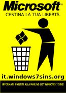 Campagna critica su Windows 7