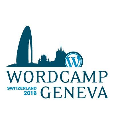 WordCamp Geneva 2016 logo
