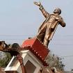 Lenin Statue Broke