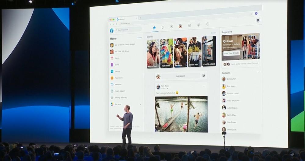 Facebook vai abandonar visual clássico no computador em setembro