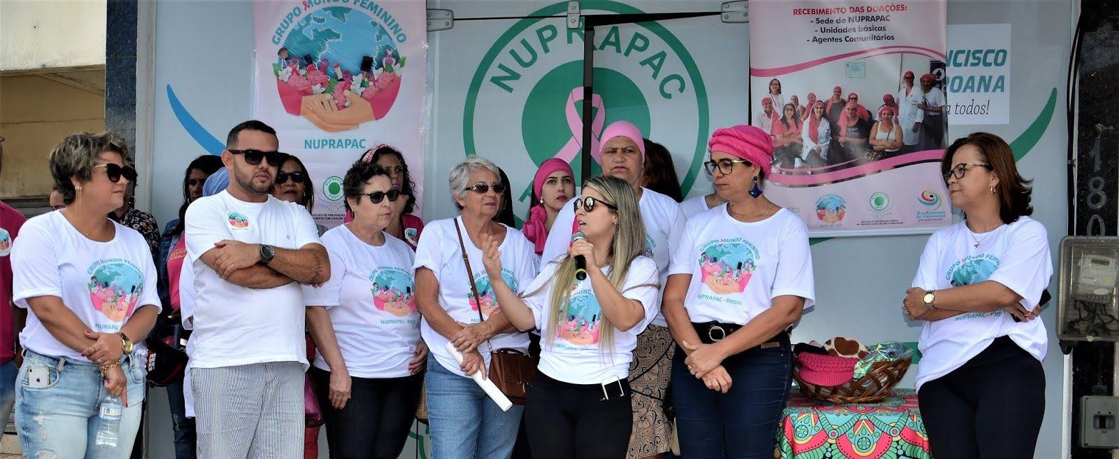 Retrospectiva: Vídeo – A caminhada da Prevenção ao Câncer de Mama, aconteceu neste sábado (20) em SFI.
