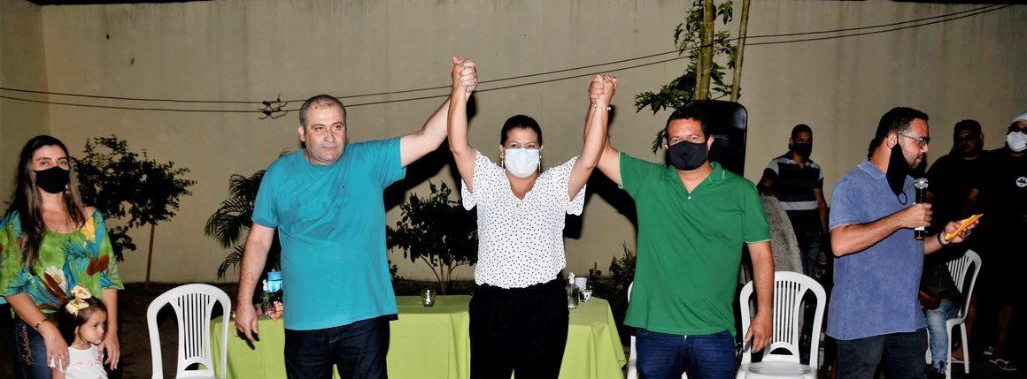 A reunião em Praça João Pessoa, na residência do vereador Marquinho de Santo Amaro, aconteceu nesta quarta-feira (07). Fotos