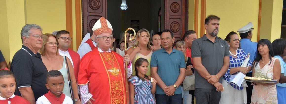 Retrospectiva: Vídeo – Missa em louvor ao Padroeiro Santo e Amado Mártir São Sebastião – SFI  (janeiro 2020)