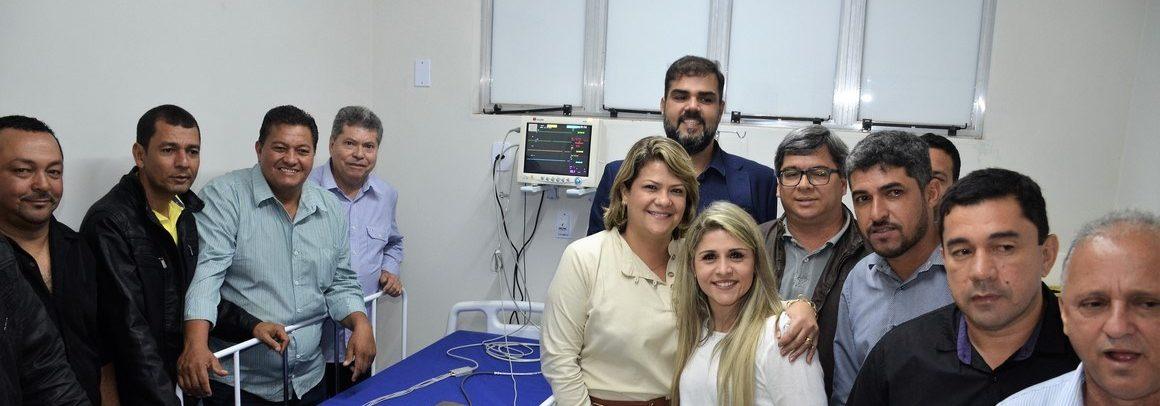 Retrospectiva: Vídeo-Inauguração da UBS Francisco Ribeiro da Silva Filho (centro) SFI em 05-09-2019