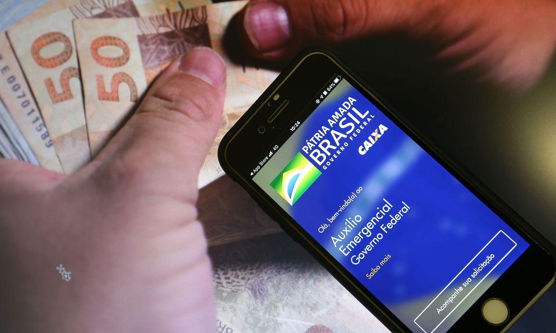 Auxílio Emergencial: Caixa paga última parcela a 5,8 milhões nesta segunda